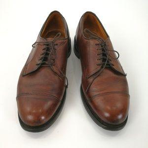 Allen Edmonds 10.5D Brown Bluchers Fairgate